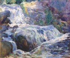 Джон Генри Твахтман. Водопад