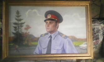 Николай Александрович Соколов. Портрет отличника милиции
