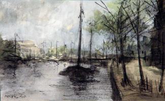 Йохан Хендрик ван Мастенброк. Канал