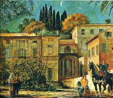 Джорджо де Кирико. Рыцарь на коне