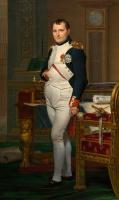 Napoleon Bonaparte in the office of the Tuileries