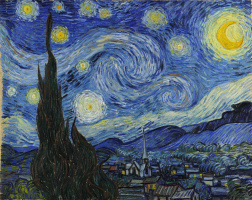 Vincent van Gogh. Starry night