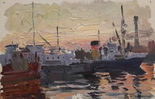 Павел Петрович Токмаков (1924-2002). Одесский морской порт