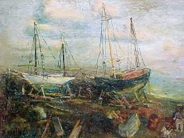 Давид Давидович Бурлюк. Корабль