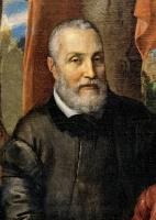 Софонисба Ангвиссола. Портрет семьи художницы. Фрагмент. Отец Амилькар