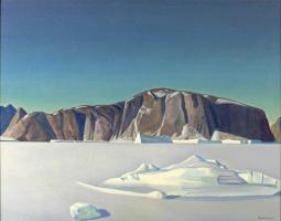 Рокуэлл Кент. Замерзший фиорд. Северная Гренландия