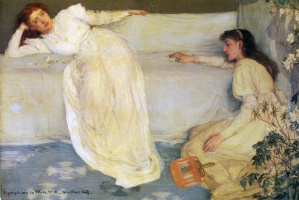 James Abbot McNeill Whistler. Symphony in white, No. 3