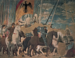 Пьеро делла Франческа. Флаг