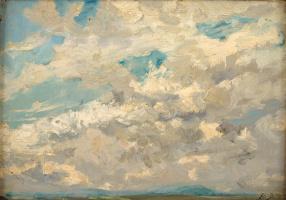 Ипполит Буланже. Облачное небо