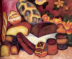 Ilya Ivanovich Mashkov. Bread