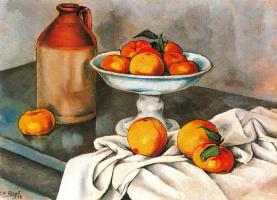 Энрик Рикарт. Натюрморт с фруктами