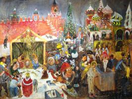 Натта Ивановна Конышева. Рождество на Васильевском Спуске