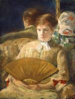 Мэри Кассат. Женщина с веером