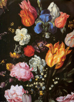 Якоб де Гейн. Цветы в вазе