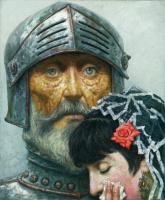 Гелий Михайлович Коржев. Дон Кихот с дамой