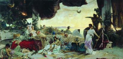 Pavel Alexandrovich Svedomsky. Orgy