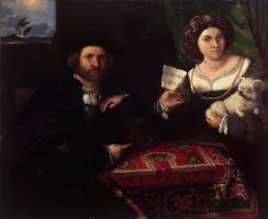 Лоренцо Лотто. Семейный портрет