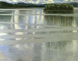 Аксели Вальдемар Галлен-Каллела. Озеро Кейтеле