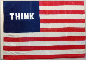 Уильям Копли. Model for American Flag (Думай)