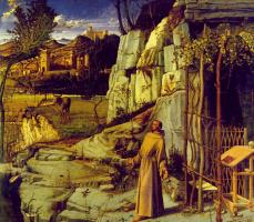 Джованни Беллини. Святой Франциск в пустыне