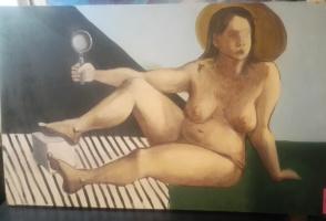 Unknown artist. Nude