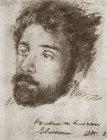 Николай Павлович Чехов. Портрет больного Левитана