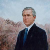 Игорь Валерьевич Бабайлов. Портрет Джорджа Буша