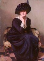 Лила Кэбот Перри. Чёрная шляпа