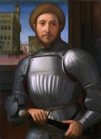 Франческо Гпанакки. Портрет мужчины в доспехах