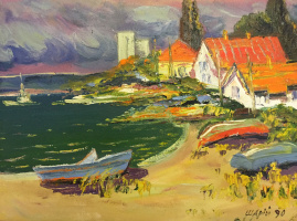 Anatoly Ivanovich Shary. The Azov coast