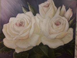 Juliana Strely. Нежные розы