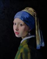 LEMI Abaev. Девушка с жемчужной серёжкой - копия