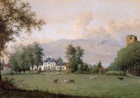 Маттьюз Книп. Вид на Сионсбург Вуд