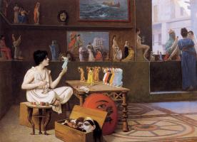 Жан-Леон Жером. Девушка и скульптуры