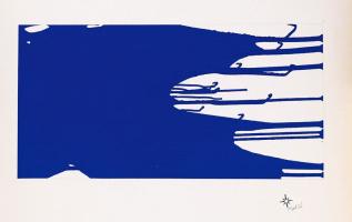 Yves Klein. Monochrome blue 15