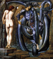 Edward Coley Burne-Jones. Perseus. Execution of the sentence
