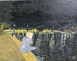 Эдуард Поникаров. На Сене (Париж)