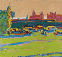 Andrew Chebotaru. Amsterdam. River port