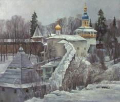 Олег Борисович Захаров. Свеча севера. ( Псково-Печорский монастырь.)