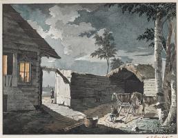 Ivan Aivazovsky. Farm