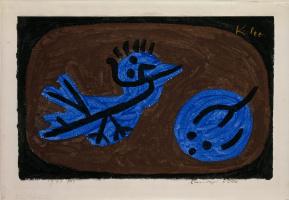 Paul Klee. Blue bird and pumpkin