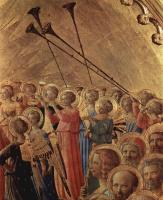 Фра Беато Анджелико. Коронование Марии, деталь