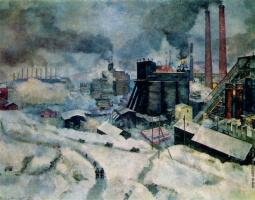 Vasily Vasilievich Rozhdestvensky. Industrial landscape