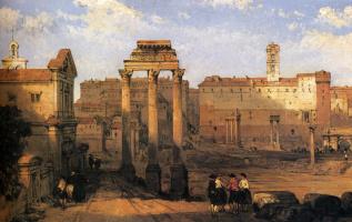 David Roberts. Rome