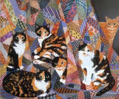 Мими Ванг Олсен. Игры котов