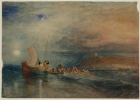 Фолкстон с моря