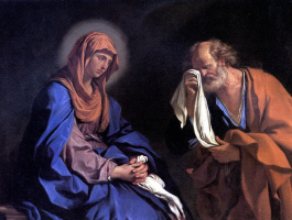 Джованни Франческо Гверчино. Слезы Святого Петра