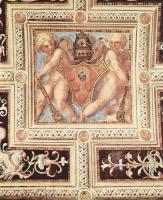 Якопо Понтормо. Декор свода капеллы папы Льва Х в Санта Мария Новелла во Флоренции. Путти с папским гербом
