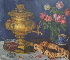 Наталья Петровна Навашина-Крандиевская. Натюрморт  1974