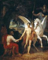 Александр Андреевич Иванов. Беллерофонт отправляется в поход против Химеры. 1829